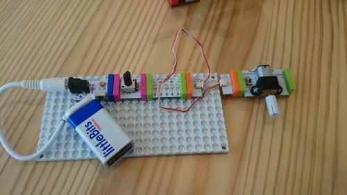 littleBits と LEGO