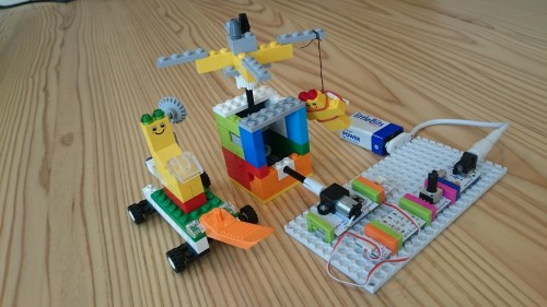 littleBits と遊園地