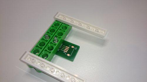反射型センサー+レゴブロック